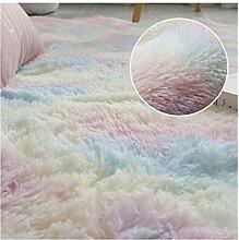 SCAYK Teppich für Wohnzimmer Flauschige Teppich
