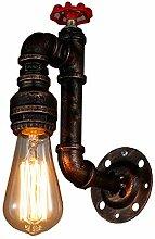 Sccarlettly Amerikanische Retro Wandlampe