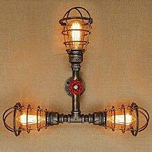 Sccarlettly Wandlampe Amerikanischen Dorf Retro