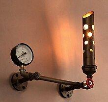 Sccarlettly Wandlampe Kreative Industrie Eisen