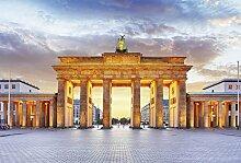 Scenolia Berlin Panorama-Fototapete 4x2,70m Deko