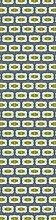 Scenolia Deco-Tapete Art Deco Design 60 x 240 cm