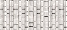 Scenolia Deco-Tapete mit Bild aus Holz, 6 x 2,70
