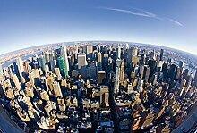 Scenolia Fototapete FISHEYE New York 3x2,70m Deko