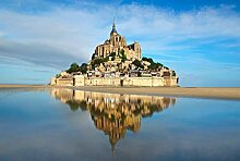 Scenolia Fototapete Panorama-Tapete BAIE DU Mont