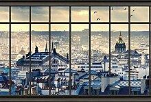 Scenolia Fototapete Panorama Tapete Paris 4x2,70m