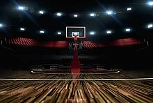 Scenolia Fototapete Poster-Deko Basketball 3 x