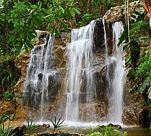 Scenolia Fototapete Water Chute, 3 x 2,70 m,
