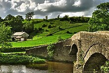 Scenolia Fototapete Yorkshire 3 x 2,70 m Deko XXL