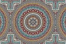 Scenolia Mandala - 3x2,70m - Deko Fototapete - XXL