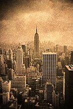 Scenolia New York Brown Wanddekoration aus