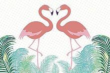 Scenolia Plexi Deco & Design Flamingo IN Love