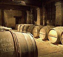 Scenolia Wandbild CAVE A Cognac 3x2,70m Deko +
