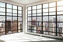 Scenolia Wandbild Panorama New York Inside 4x2,70m
