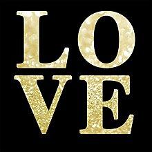Scenolia Wandbild Plexi Deco & Design Love 50x50