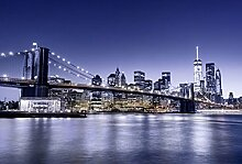 Scenolia XXL Panorama-Poster, Brooklyn Bridge