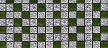 Scenolia XXL Panoramatapete Mosaic Garden 4x2,70m