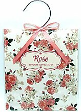 Scented Wardrobe Hanger - Scented Sachet in - Rose Scent by TJM