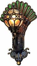 SCFUK Wandlampe Outdoor wasserdichte Retro-Rund