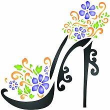 Schablone-wiederverwendbar Dekoratives Blumen