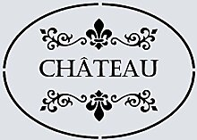Schablone, A5, Shabby Chic, French, Möbel, Stoff, Glas, Wiederverwendbar, Mylar (27)