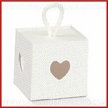 Schachtel GASTGESCHENK für confettate Karton