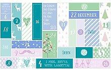 Schachtel24 Adventskalender zum Befüllen,