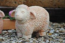 Schaf,handgefertige Terracotta,37cm,frostfes