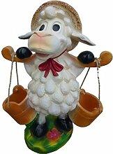Schaf mit Eimer - Tierfiguren - BD052