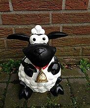 Schaf Molly mit Glocke 30cm