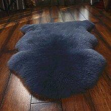 Schaffell Pelz Area Rug Flauschige Wolle Matte