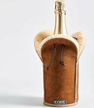 Schaffell Sektkühler Camel Wooler von Kywie