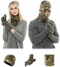 Schal Beanie Mütze Und Handschuhe Gesetzt,
