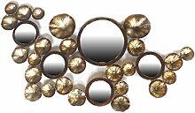 Schale 04/1220Dekoration 5Spiegel Produktreihe Kupfer Metall 107x 55x 3cm