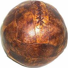 Schale 06/0620Türstopper Fußball Kunststoff braun 19x 19x 19cm