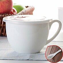 Schale Keramik Müsli Schale frühstück Becher