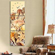 Schale Wanduhr Rahmenlos Dekoration Leinwand gemalt Wanduhr , 30*30cm