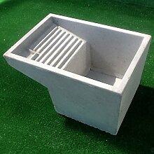 Schale Waschbecken pilozzo Verwendung Waschküche