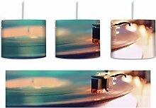 Schallplatte inkl. Lampenfassung E27, Lampe mit