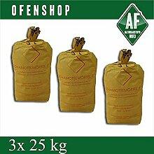 Schamottemörtel S 3x 25 kg Ofenbau