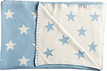Schardt Babydecke Big Star 95x120 cm hellblau