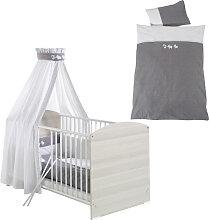 Schardt Bettset Kinderbettwäsche mit Nestchen und
