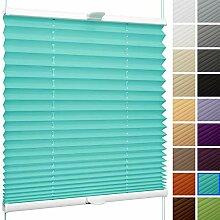 SchattenFreude Klemmfix-Plissee für Fenster | Mit