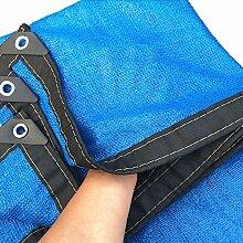 Schattierungsnetz Sonnenschutz Net 8 Pin Blau
