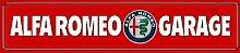 Schatzmix Alfa Romeo Garage strassenschild Auto