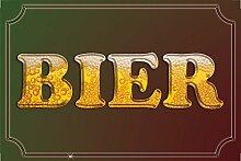 Schatzmix Bier blechschild, reklame