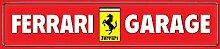 Schatzmix Ferrari Garage strassenschild Auto Car