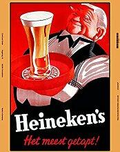 Schatzmix Heineken Beer Bier blechschild