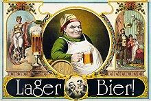 Schatzmix Lager Bier blechschild
