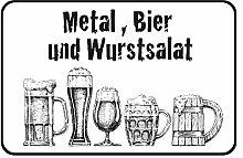 Schatzmix Metal, Bier und Wurstsalat -